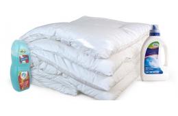 Как постирать пуховое одеяло если нет возможности обратиться в химчистку