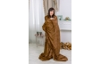Плед №1008 Damask Brown