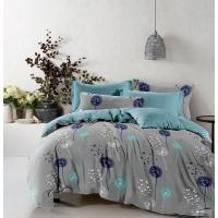 Комплект постельного белья Бязь 17-0431 Turquoise valley