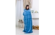 Плед №1002 Damask Blue
