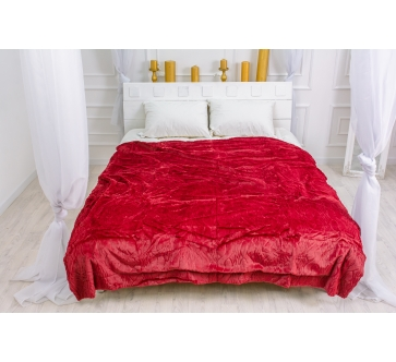 Плед №1005 Damask Red