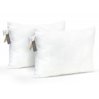 Набор антиалергенных подушек EcoSilk №158 Eco Light White (средние)